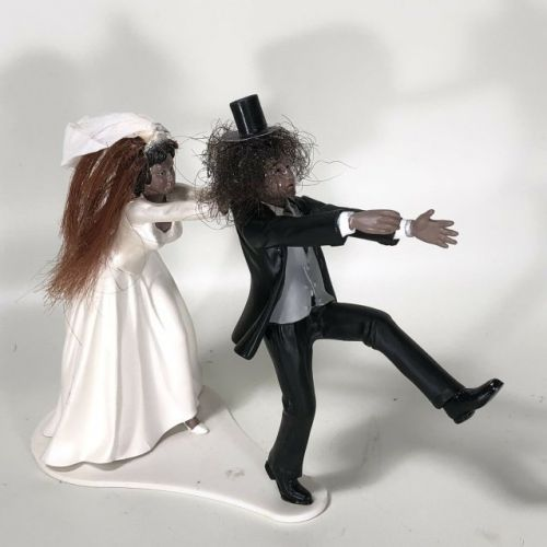 You Can Buy A Wedding Cake Topper Featuring SLASH's Real Hair