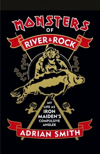 IRON MAIDEN's ADRIAN SMITH Announces Fishing Memoir 'Monsters Of River & Rock'