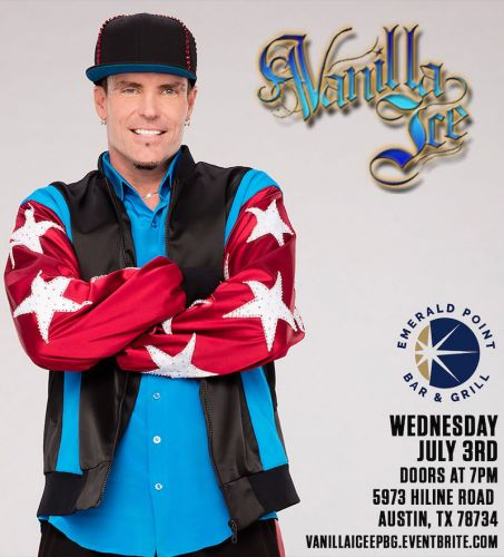 ACL May Be Cancelled But Austin Is Still Getting A Vanilla Ice Concert On Friday