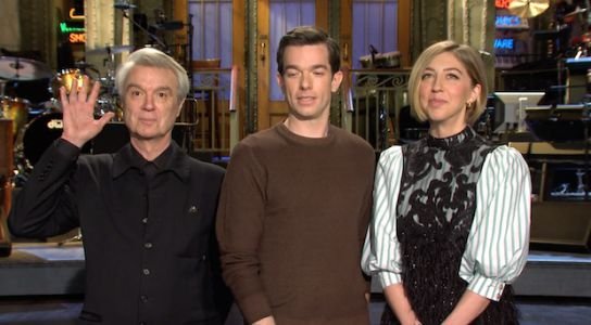 Watch David Byrne's Saturday Night Live Promos