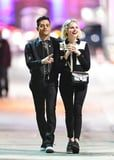 Get a Partner Who Matches Outfits With You Like Rami Malek Did For Lucy Boynton