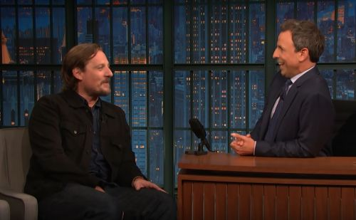 Watch Sturgill Simpson Talk Working On A Railway, Making His Acting Debut On Seth Meyers