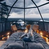 Why Yes, I'd Love to Spend a Night in a Glass Igloo Under the Stars in Finland
