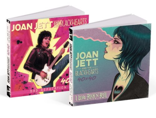 JOAN JETT Teams Up With Z2 COMICS For Graphic Anthology