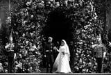 These Black and White Pictures of Harry and Meghan's Wedding Will Still Give You Goosebumps