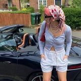 Dua Lipa's Louis Vuitton Headscarf Look Just Inspired My Next $30 Outfit