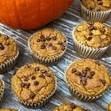 Celebrate Fall! Bake These Low-Sugar, Protein-Packed Vegan Pumpkin Chocolate-Chip Muffins