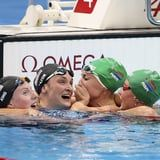 This Sweet Moment After the Women's Breaststroke Final Is What the Olympics Are All About