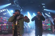 Big Boi and Sleepy Brown Light Up 'Jimmy Kimmel' With 'Overthunk' Performance