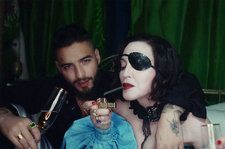 Madonna Seduces Maluma in Rowdy, Cha-Cha-Inspired 'Medellín' Video: Watch
