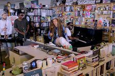 Erykah Badu Shines at NPR's Tiny Desk Concert: Watch