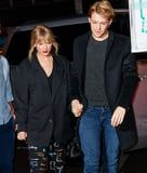 We See You Joe Alwyn, but We Saw Taylor Swift's Sequin Pants First