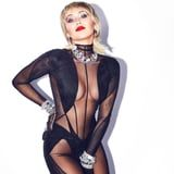 Miley Cyrus's Sheer Bodysuit Demands Your Full and Undivided Attention - Don't Even Blink