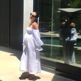 Lea Michele Turns the Most Coveted Nap Dress Into a Poolside Maternity Dress