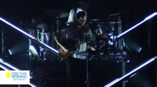 Watch Bon Iver Perform On CBS This Morning