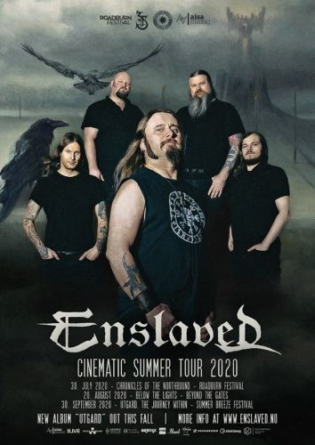 ENSLAVED Announces 'Cinematic Summer Tour 2020'