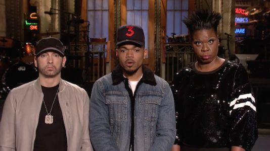 "Chance the Rapper Says Donald Glover Helped Him Write an ""SNL"" Sk"